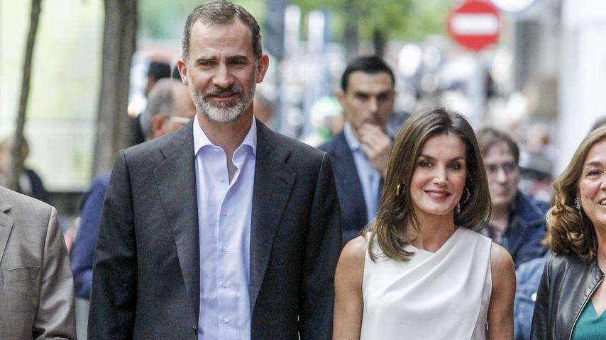 Das spanische Königspaar Felipe und Letizia