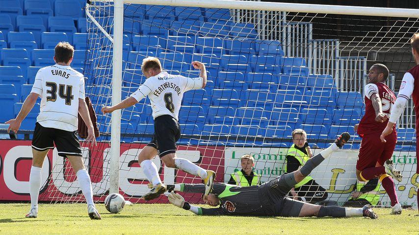 Das Spiel Hereford United gegen Northampton Town