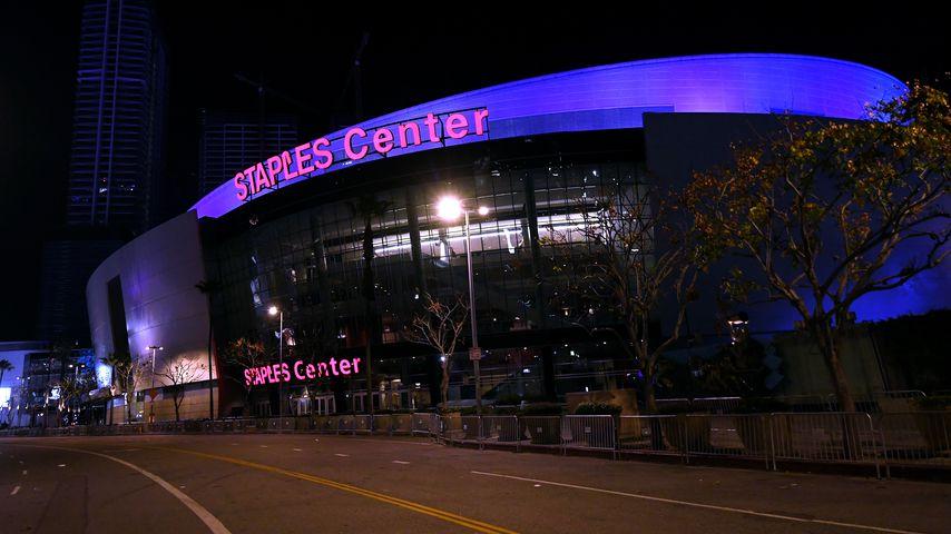 Das Staples Center im Januar 2020