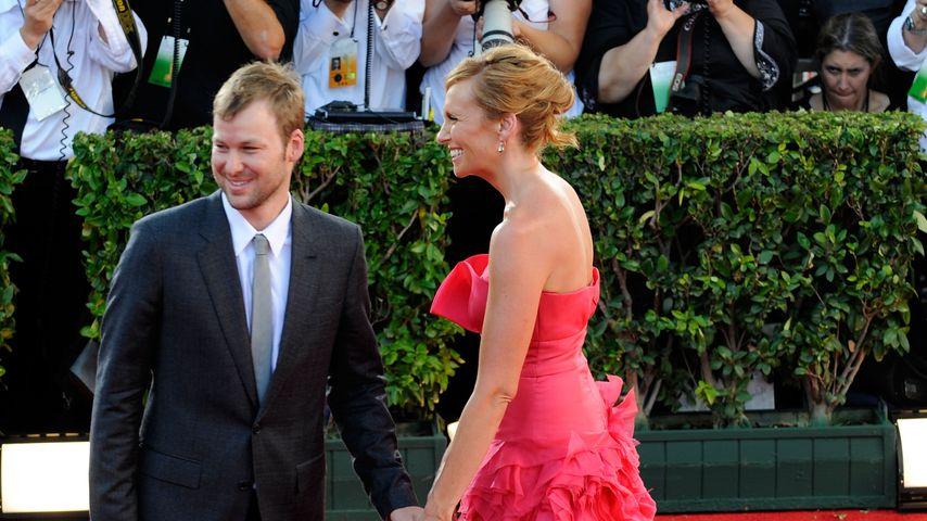 Dave Galafassi und Toni Collette im September 2009