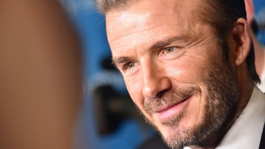 David Beckham superhappy: Jetzt wird er Onkel!