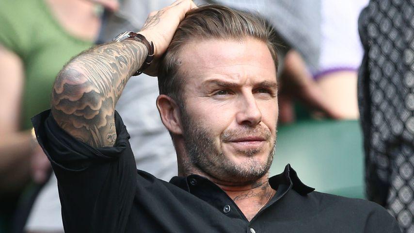 Wie f***ing Herzinfarkt: Beckham für Film zur Sau gemacht!