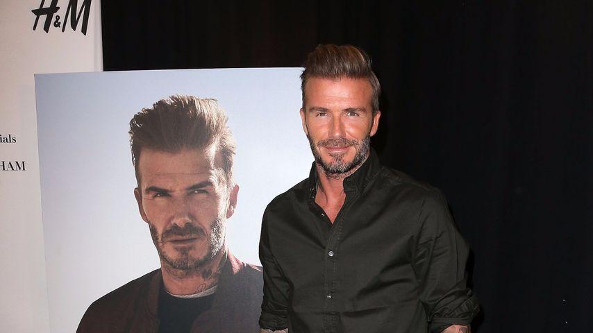 Ist er zu alt? David Beckham verliert Model-Job an Jüngeren