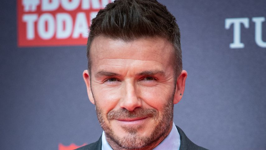 David Beckham in Madrid, 2019
