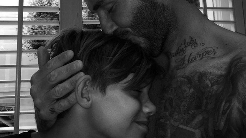 Happy Birthday: So süß gratuliert David Beckham seinem Romeo