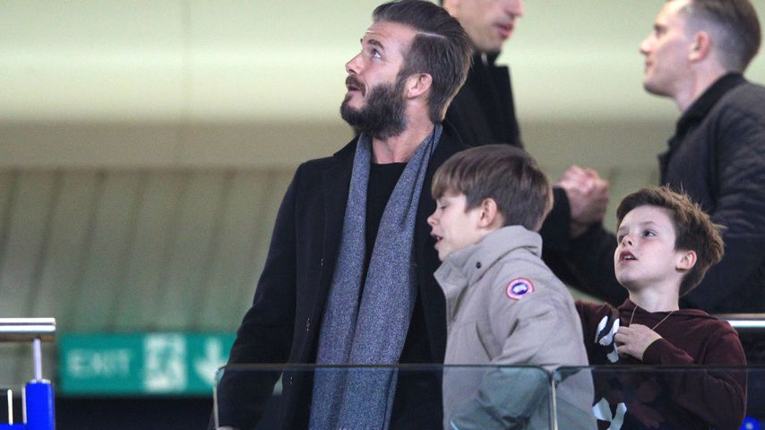 David Beckham und Cruz Beckham