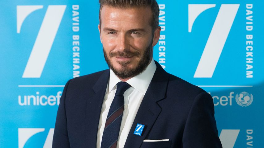 David Beckham: Er will auf keinen Fall Schauspieler werden