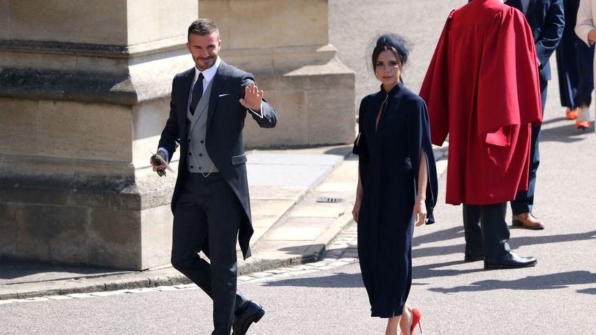 David Beckham und seine Victoria 2018 in England