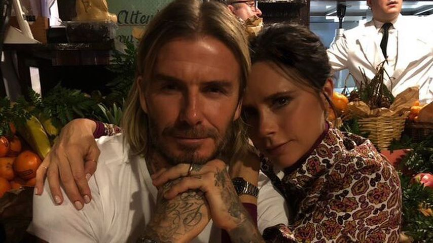 Paris-Romantik: David & Victoria Beckhams inniges Paar-Pic!