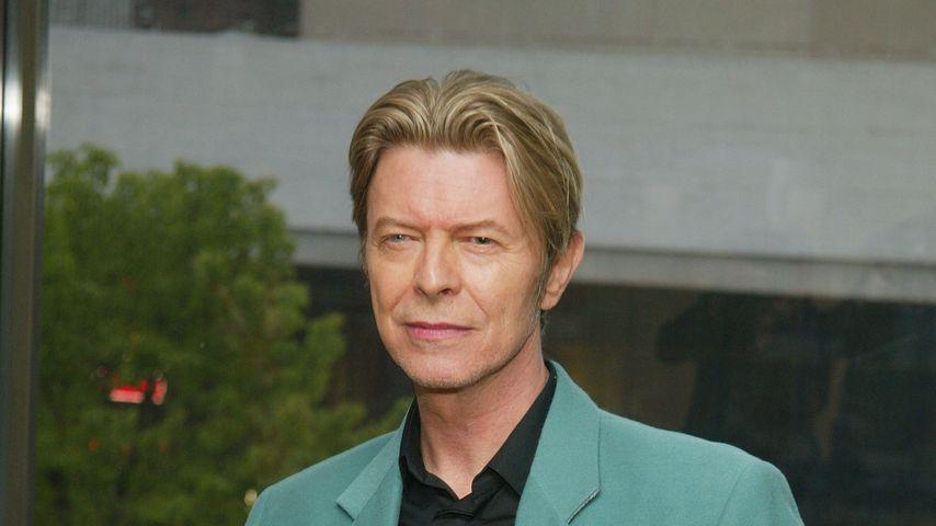 David Bowie im Mai 2003