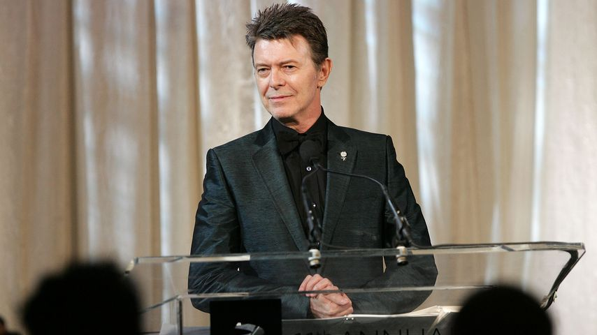 David Bowie bei den Annual Webby Awards