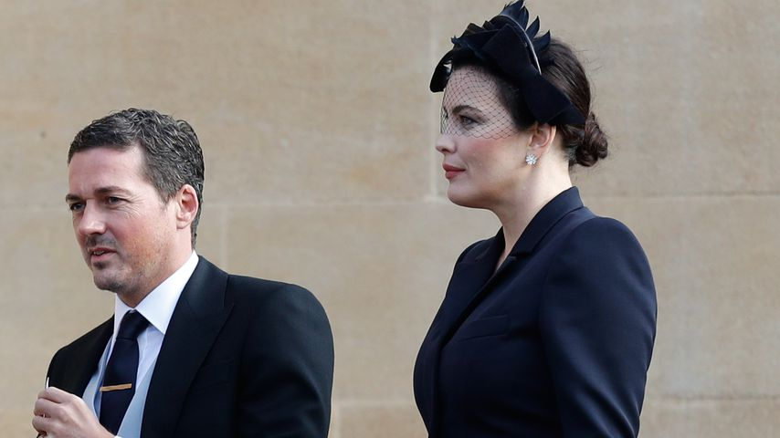 David Gardner und Liv Tyler bei der Hochzeit von Prinzessin Eugenie und Jack Brooksbank