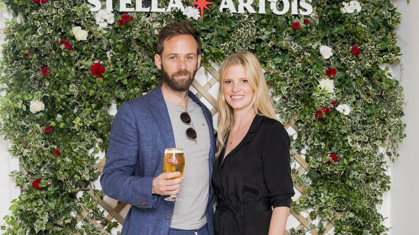 Private Zeremonie: Lara Stone hat ihren David geheiratet