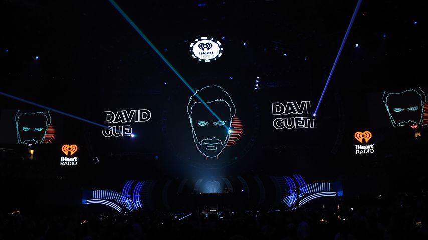 David Guettas Bühnenshow beim iHeartRadio Music Festival in Las Vegas 2017