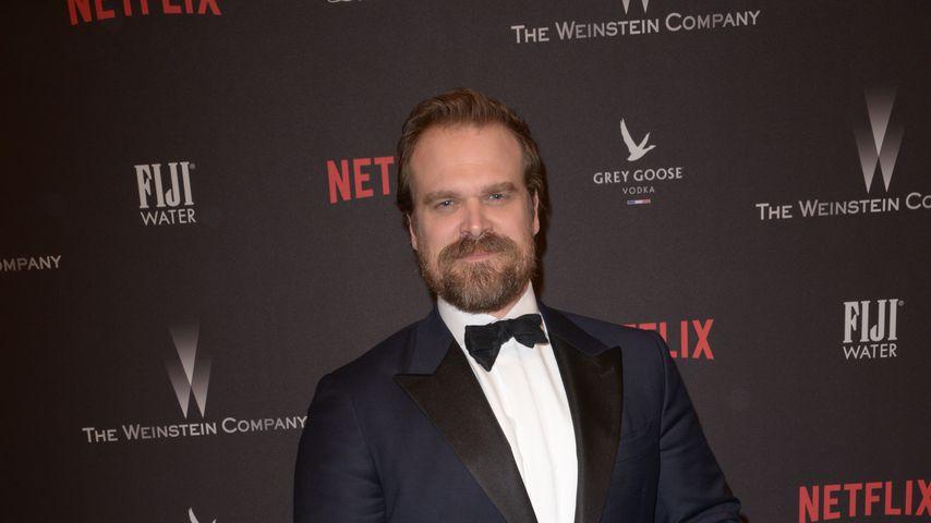 David Harbour bei der Golden Globes Aftershow-Party der Weinstein Company und Netflix 2017