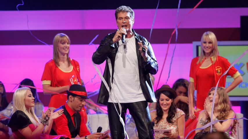 David Hasselhoff 2010 in Hannover