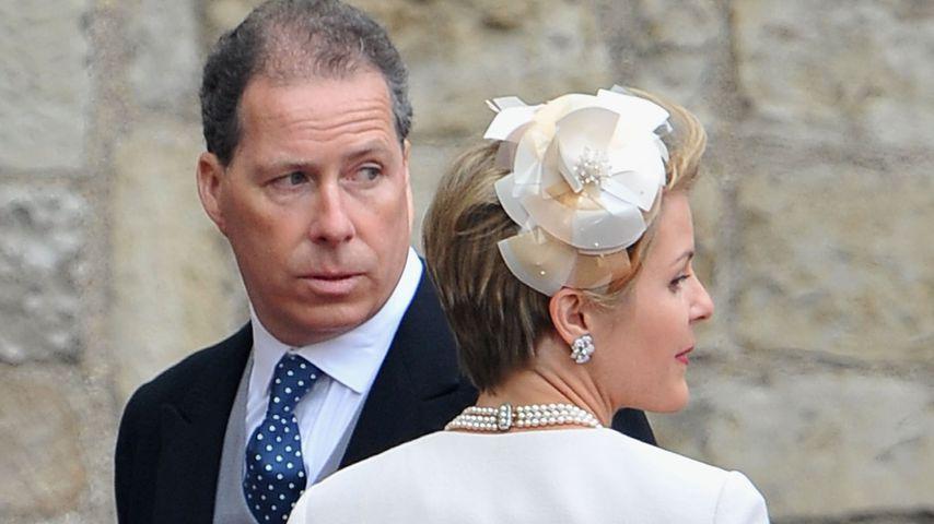 David Linley mit seiner Frau Serena