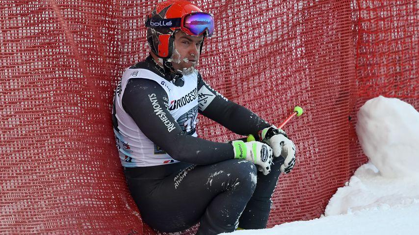 David Poisson bei einem Wettkampf in Garmisch-Partenkirchen 2017