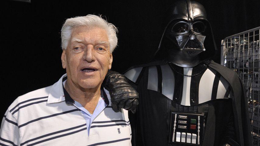 Netter Opa: So sieht Darth Vader unter seiner Maske aus!