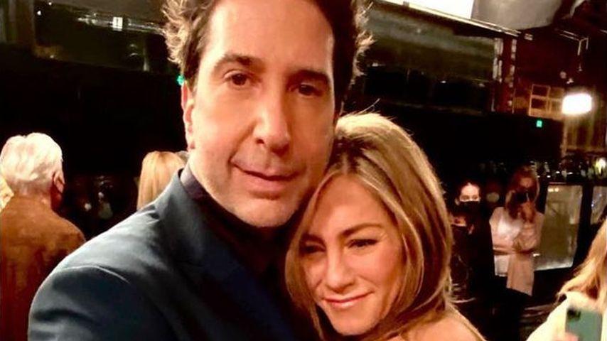 """""""Friends""""-Reunion: Jen Aniston und David Schwimmer kuscheln"""