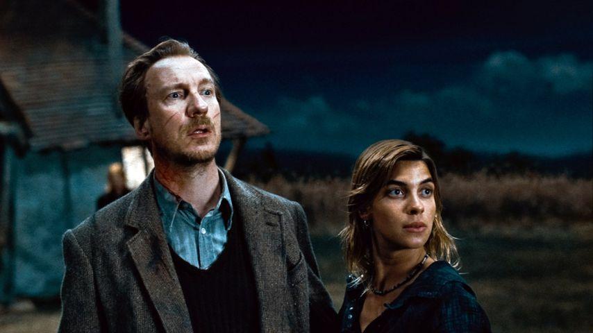 """David Thewlis und Natalia Tena als Remus Lupin und Nymphadora Tonks in """"Harry Potter"""""""