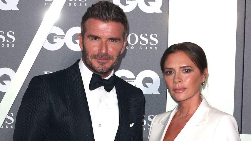 David und Victoria Beckham im September 2019