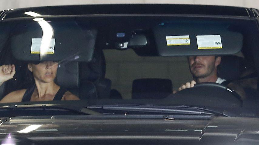 Neuer Flitzer: David Beckham verursacht Autounfall