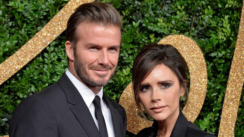 David und Victoria Beckham 2015 bei den British Fashion Awards in London