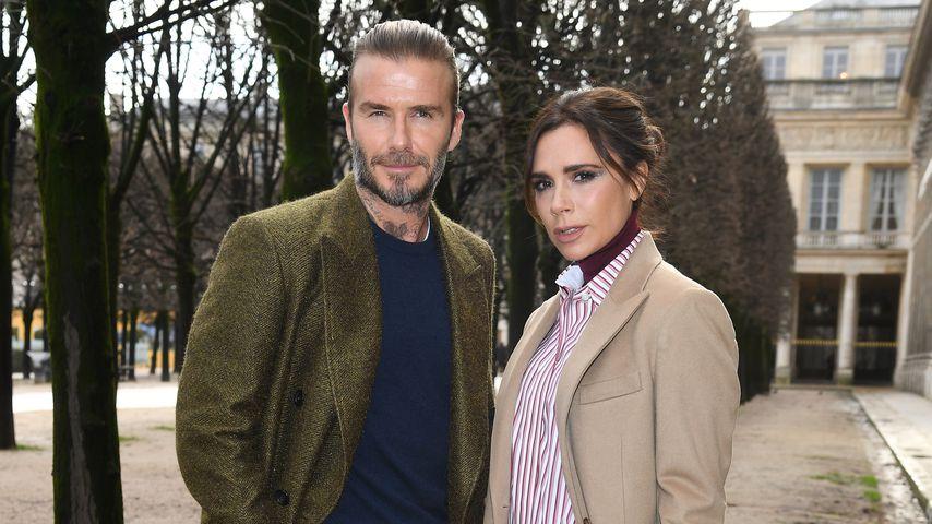 David und Victoria Beckham, 2018