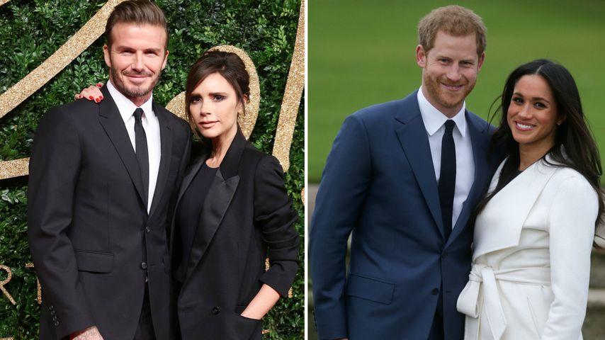 Im Tv Verplappert Beckhams Kommen Auch Zu Harrys Hochzeit