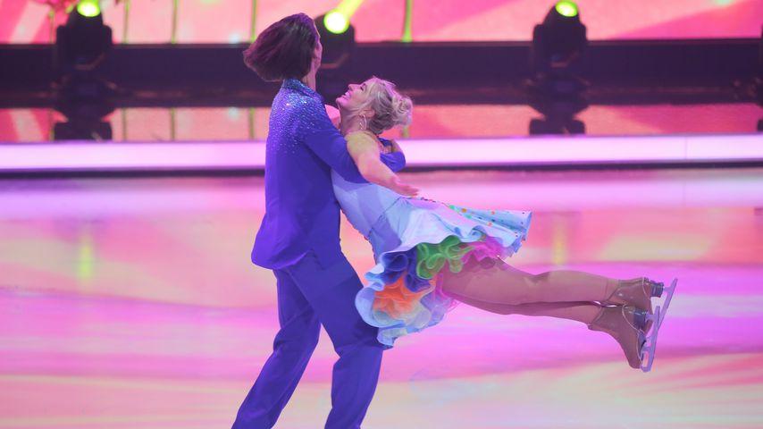 """David Vincour und Sarina Nowak bei """"Dancing on Ice"""""""