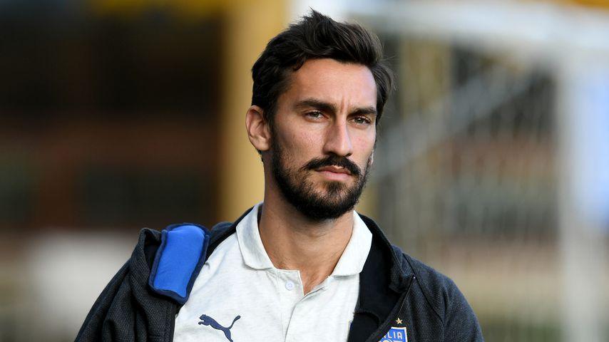 Mit 31: Fußball-Profi Davide Astori tot im Hotel gefunden