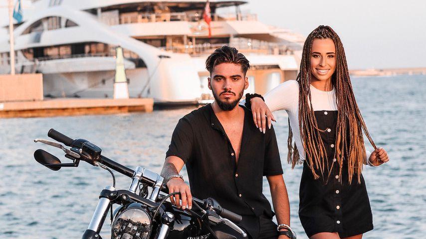 Davide Tolone und Siria Campanozzi im Urlaub