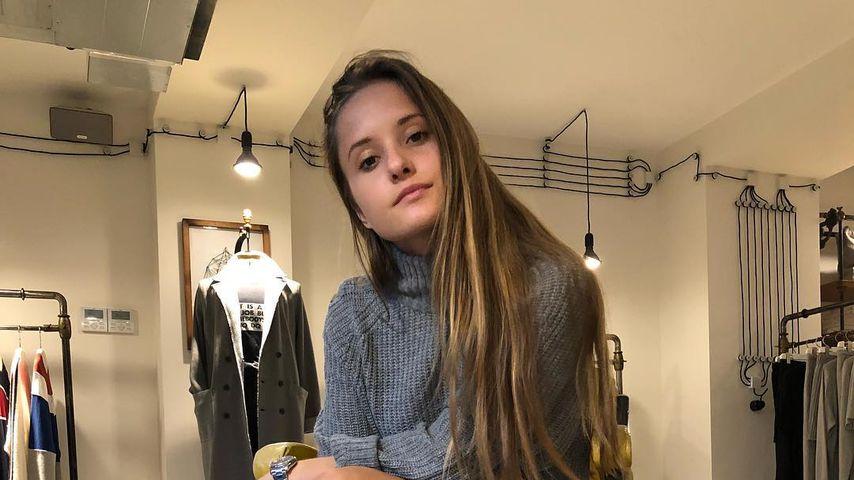 Davina Geiss, Oktober 2018