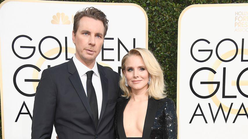 Dax Shepard und Kristen Bell bei den Golden Globes 2017