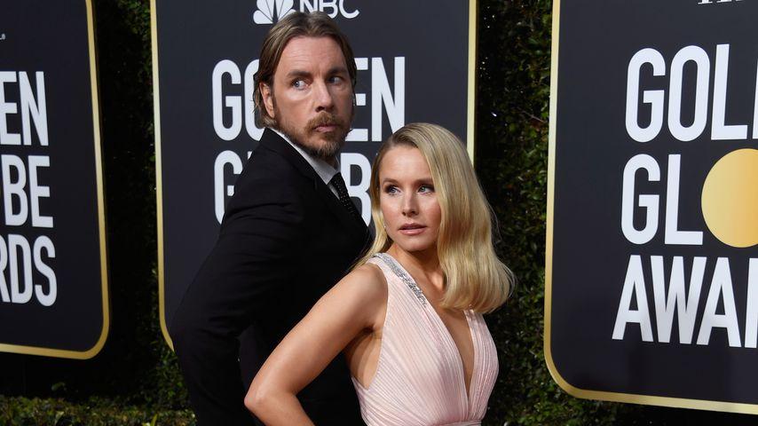 Dax Shepard und Kristen Bell bei den Golden Globe Awards 2019