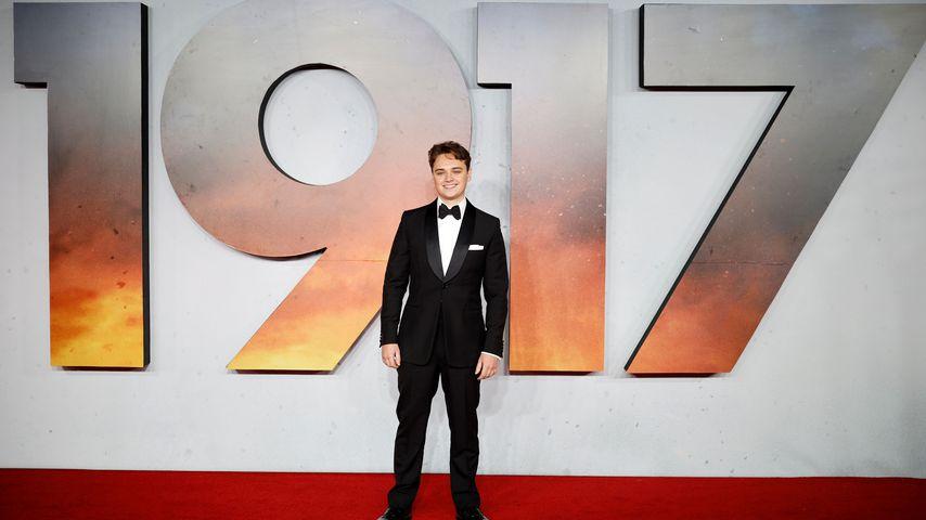 """Dean-Charles Chapman bei der Weltpremiere von """"1917"""" in London im Dezember 2019"""