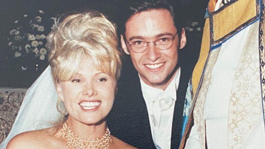Deborah-Lee Furness und Hugh Jackman bei ihrer Hochzeit