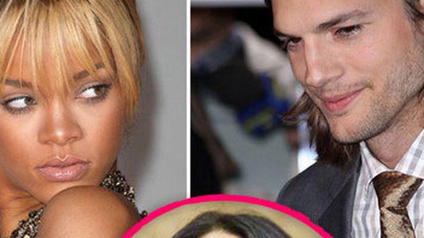 Ashton & Rihanna: Demi Moore ist außer sich!