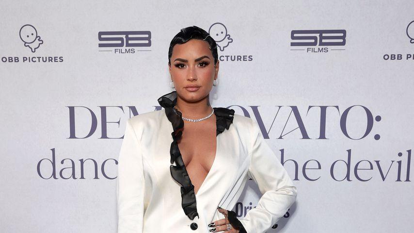 """Demi Lovato bei der Premiere ihrer Doku """"Dancing with the Devil"""" 2021"""