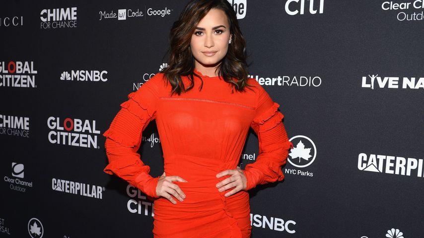 Sängerin und Schauspielerin Demi Lovato