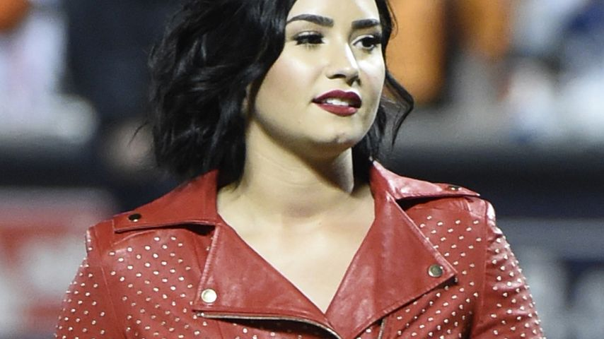 Demi Lovato bei den World Series 2015