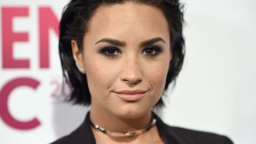 Demi Lovato bei einem Event in NYC im Dezember 2015