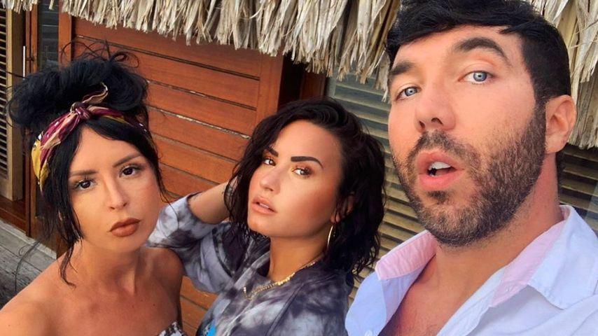 Nach Drogen-Absturz: Demi Lovato dankt ihren besten Freunden