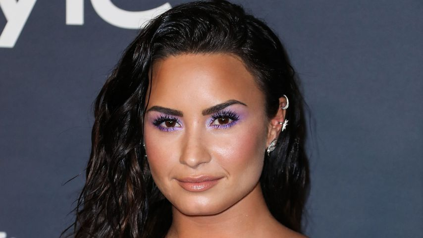 Sängerin Demi Lovato im Oktober 2018