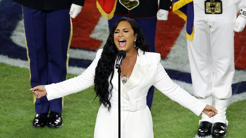Demi Lovato im Februar 2020 in Miami