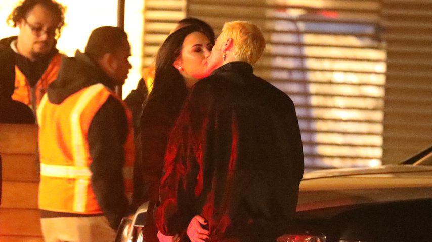 Inniges Knutsch-Video: Demi Lovato und Henry im Turtel-Modus