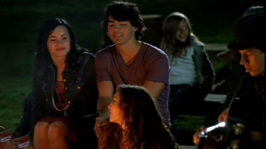 "Demi Lovato und Joe Jonas in ""Camp Rock 2"""