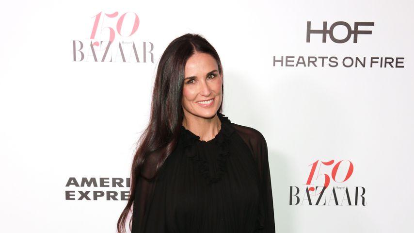 Demi Moore bei einem Event von Harper's Bazaar