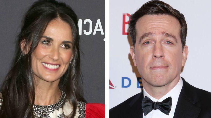 Neues Hollywood-Paar? Demi Moore soll Ed Helms daten